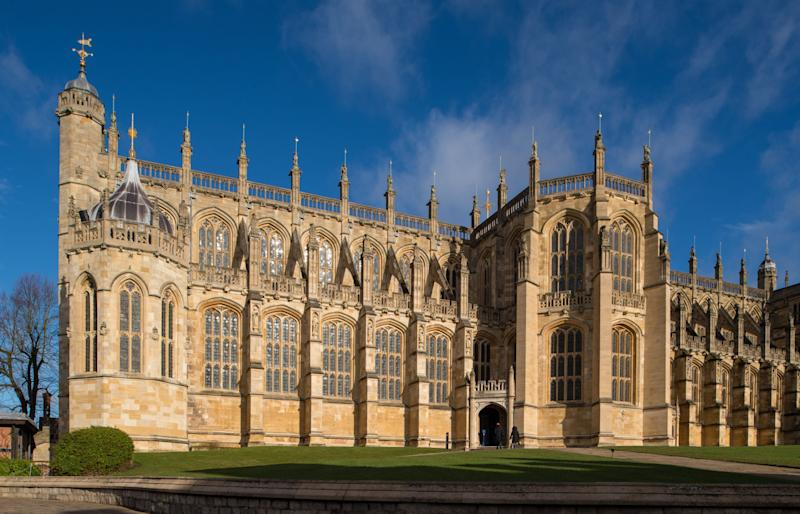 The couple will tie the knot at St George's Chapel at Windsor Castle [Photo: Getty]