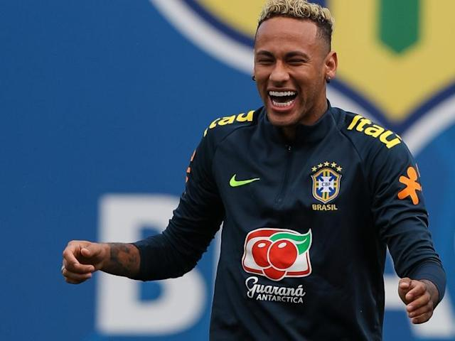 World Cup 2018: Neymar back in Brazil training after foot injury fears ahead of Costa Rica clash