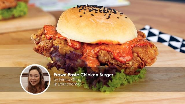 Prawn-Paste-Chicken-Burger-homecook-Erinna-Chng