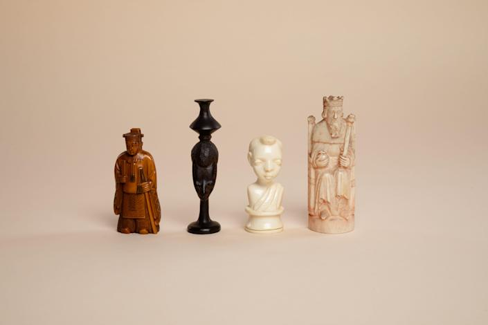 """The World Chess Hall of Fame in St. Louis """"Pawns & Passports,"""" exhibition features more than 50 chess sets celebrating the cultures of different regions."""