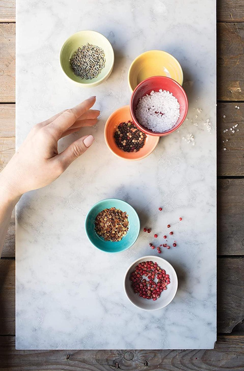 <p>You can never have enough bowls and these <span>Now Designs L46001aa Pinch Bowls</span> ($15) are too cute!</p>