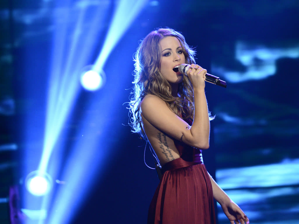 "Angie Miller performs ""Someone to Watch Over Me"" on the Wednesday, May 1 episode of ""American Idol."""