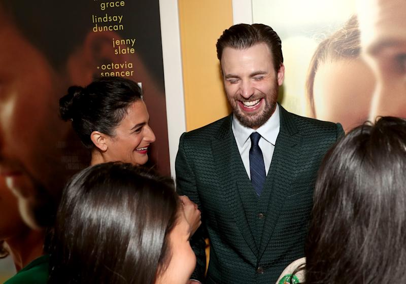 The former couple reunited at the premiere of their movie Gifted, and all seemed well.