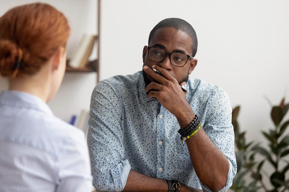 When talking to your manager about your salary, don't compare yours to your coworker's. Instead, focus on your performance, experts say. (Photo: Getty Creative)