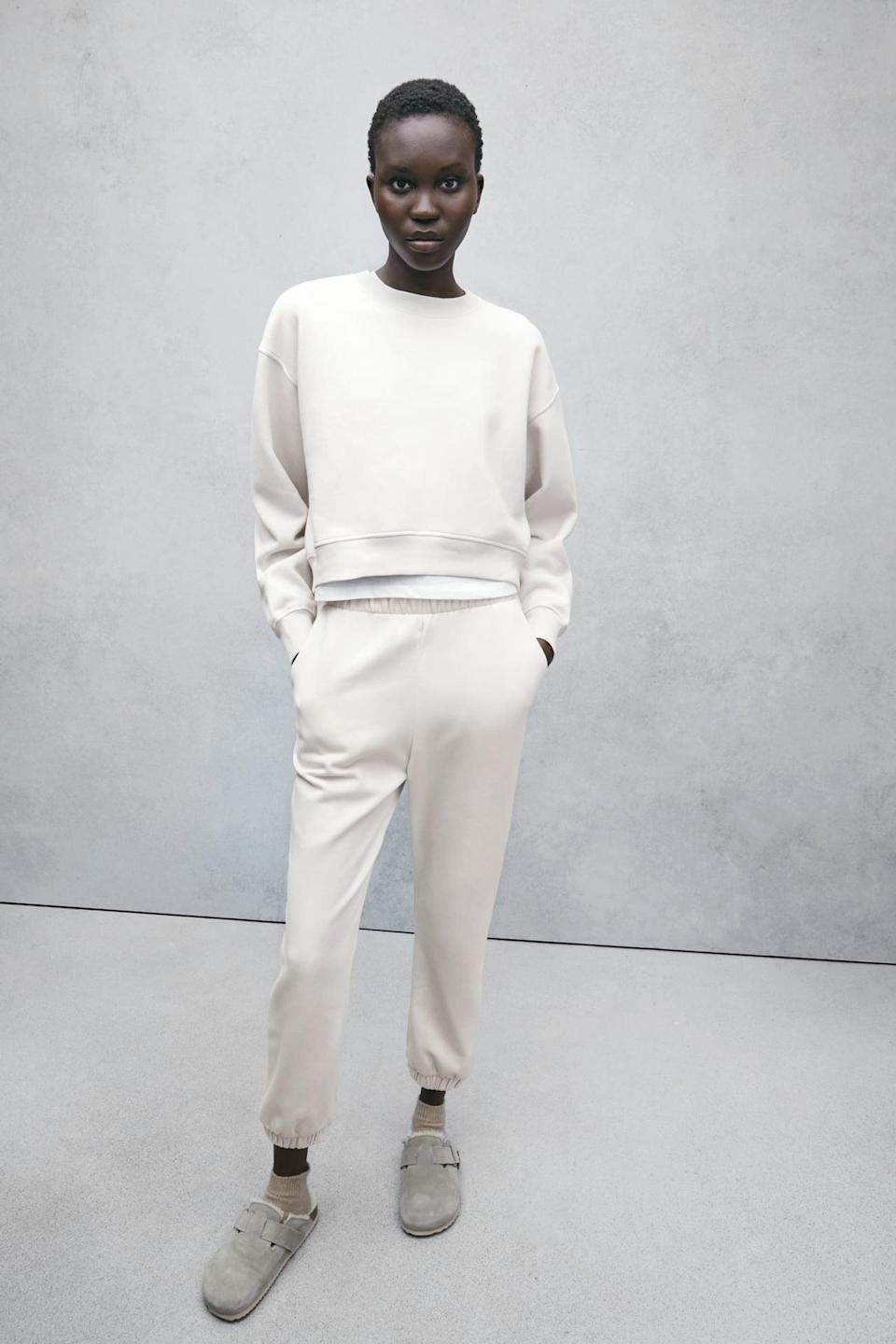 <p>This <span>Zara Basic Sweatshirt</span> ($18) is always a good idea. It's slightly cropped and comes in a bunch of different colors, plus it's super affordable.</p>