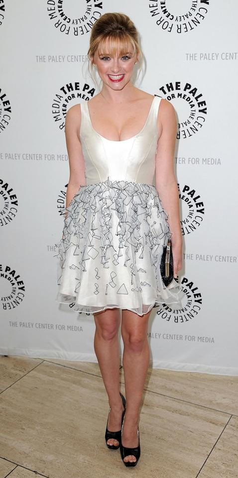 """Greer Grammer arrives at the Season 2 premiere screening of """"Awkward"""" at The Paley Center for Media on June 21, 2012 in Beverly Hills, California."""