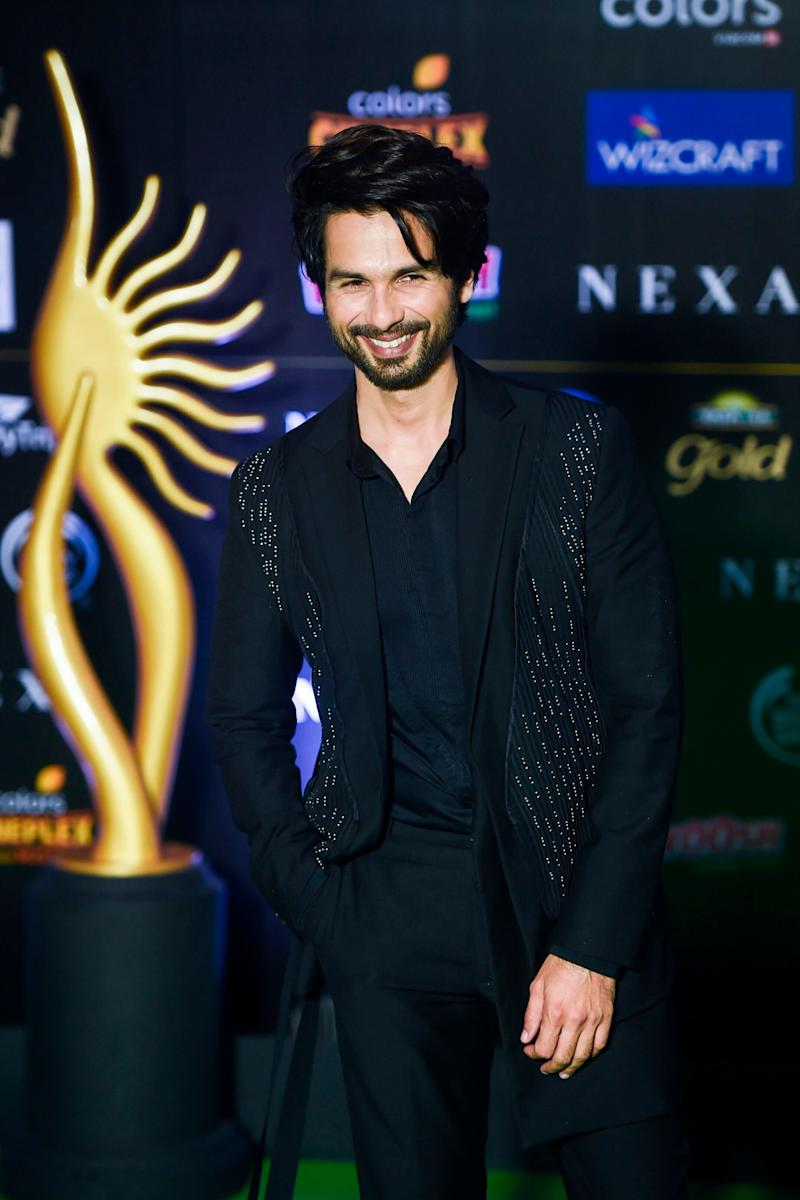 Shahid Kapoor at IIFA. (Photo: PUNIT PARANJPE via Getty Images)