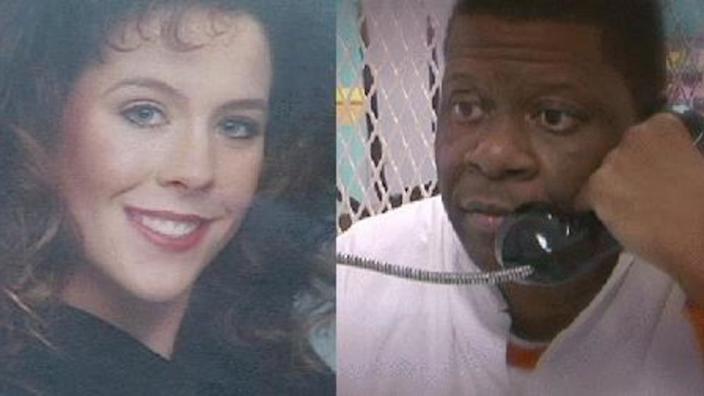 Stacey Stites, left, and Rodney Reed, right. / Credit: CBS Austin