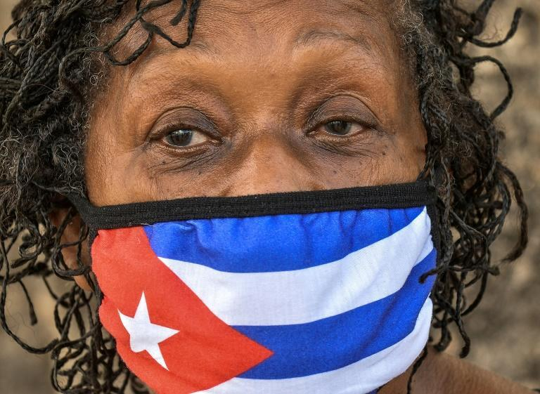Of the 5,300 coronavirus deaths recorded in Cuba between the start of the outbreak and the end of August 2021, nearly half were in the last month alone, as were almost a third of all confirmed cases (AFP/YAMIL LAGE)