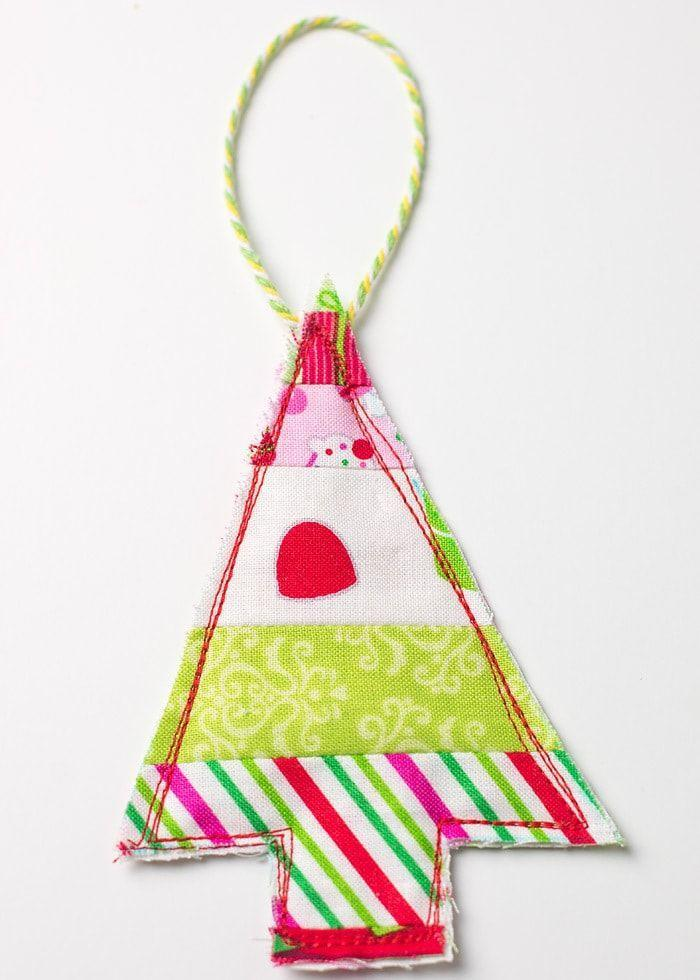"""<p>If you have fabric scraps leftover from another project—say, homemade face coverings—this easy DIY will make use of the excess. </p><p><em>Get the tutorial at <a href=""""https://www.scatteredthoughtsofacraftymom.com/easy-fabric-ornament-gift-toppers/"""" rel=""""nofollow noopener"""" target=""""_blank"""" data-ylk=""""slk:Scattered Thoughts of a Crafty Mom"""" class=""""link rapid-noclick-resp"""">Scattered Thoughts of a Crafty Mom</a>.</em></p><p><a class=""""link rapid-noclick-resp"""" href=""""https://www.amazon.com/Konsait-Christmas-Multi-Color-Patchwork-Scrapbooking/dp/B089247MY3?tag=syn-yahoo-20&ascsubtag=%5Bartid%7C10072.g.34443405%5Bsrc%7Cyahoo-us"""" rel=""""nofollow noopener"""" target=""""_blank"""" data-ylk=""""slk:SHOP CHRISTMAS FABRIC"""">SHOP CHRISTMAS FABRIC</a></p>"""