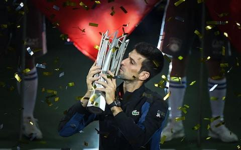 <span>Djokovic has climbed back to the top of the rankings after a stunning second half of the year</span> <span>Credit: AFP </span>