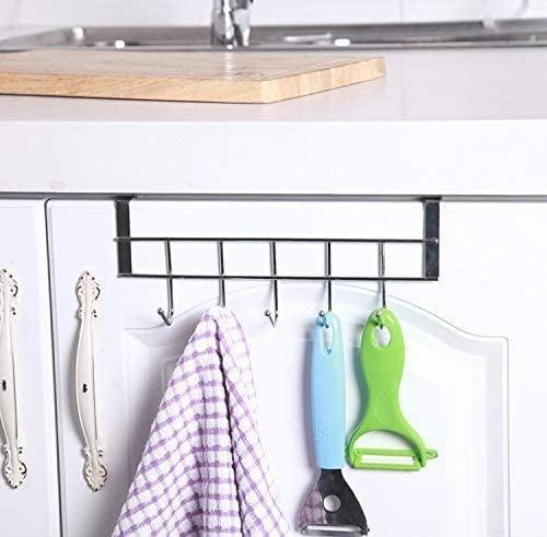 <p>This <span>COLIBYOU 3 Packs Over The Cabinet Door Hooks</span> ($7) is great for both the bathroom and kitchen.</p>
