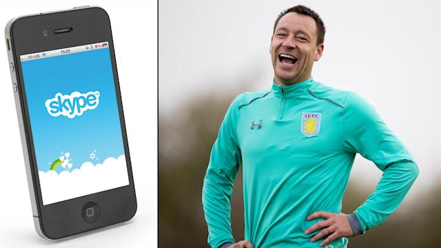 John Terry has already done a bit of coaching via the medium of Skype.