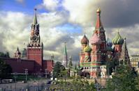 <p>This beautiful red cathedral in Red Square, Russia, is Moscow's most famous artistic work of architecture. It was built between 1555 and 1561 by Ivan the Terrible, and is famous for its fairy tale-like facade. </p>