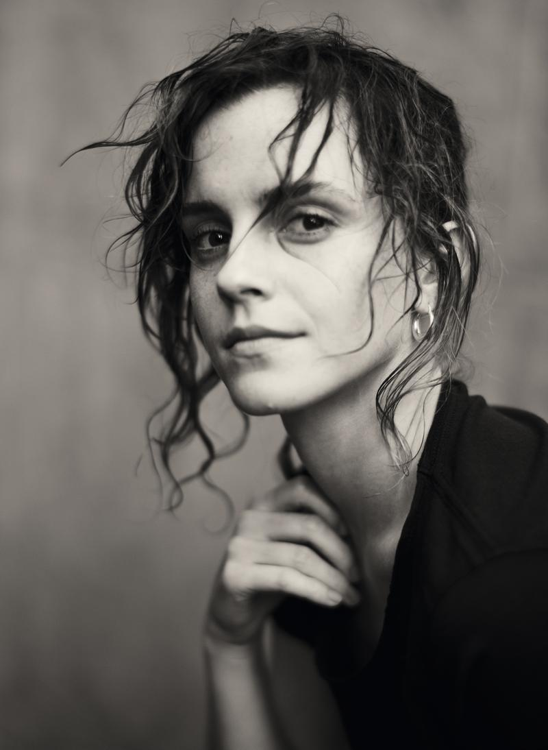 Emma Watson in the 2020 Pirelli calendar. [Photo: 2020 Pirelli Calendar by Paolo Roversi]