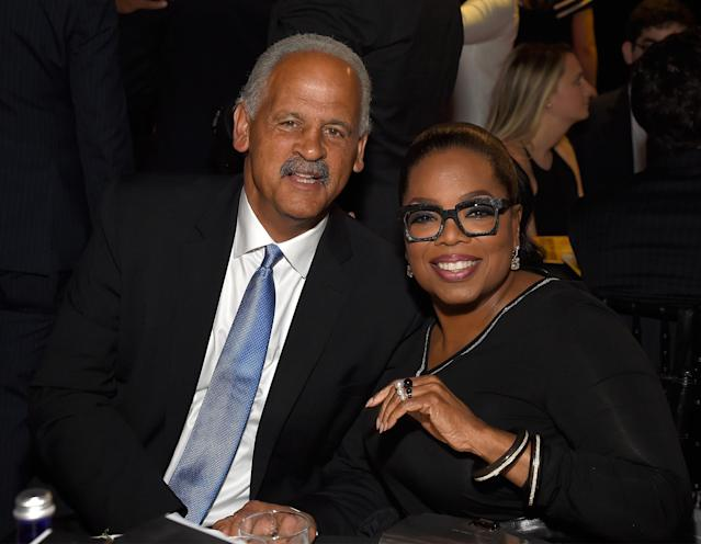 Stedman Graham and Oprah Winfrey met one another in 1986 (Photo by Kevin Mazur/Getty Images for Robin Hood)