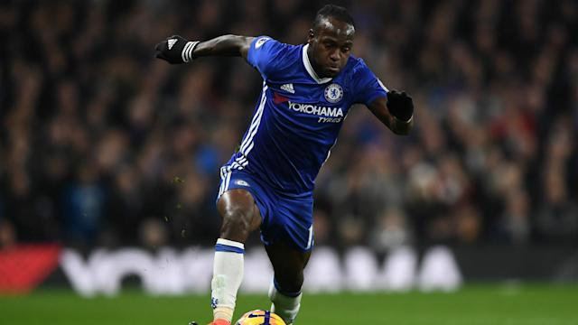 Antonio Conte expects to have Victor Moses available when Chelsea take on Bournemouth in the Premier League at Vitality Stadium.