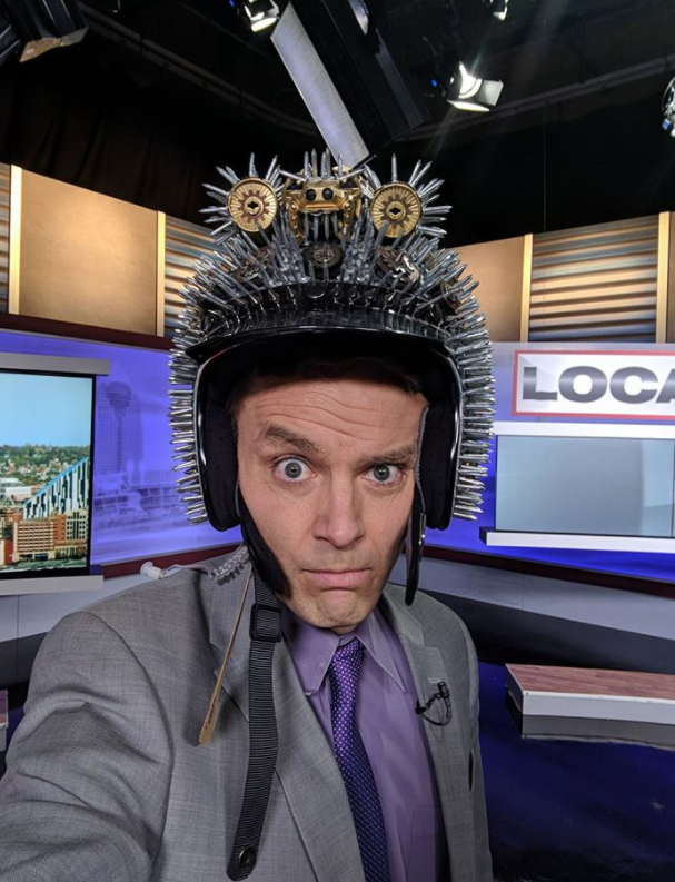 The kooky host is known for his sense of humour. Photo: Facebook/Bob-Herzog