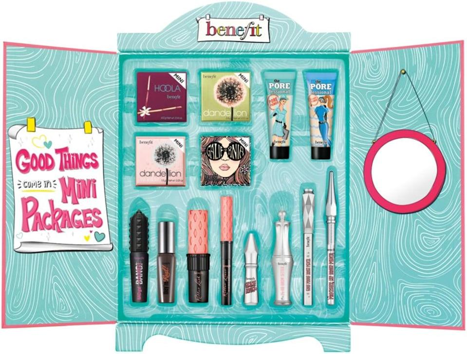 """<p>""""It's hard to find a gift set where you literally love every single thing inside, but that's exactly what the <span>Benefit Cosmetics Superstar Wardrobe Minis Makeup Value Set</span> ($90) is to me: a one-stop shop for all the products I use every day. Well, every day I have somewhere to go (which, to be fair, is a little more rare these days)."""" - KC</p>"""