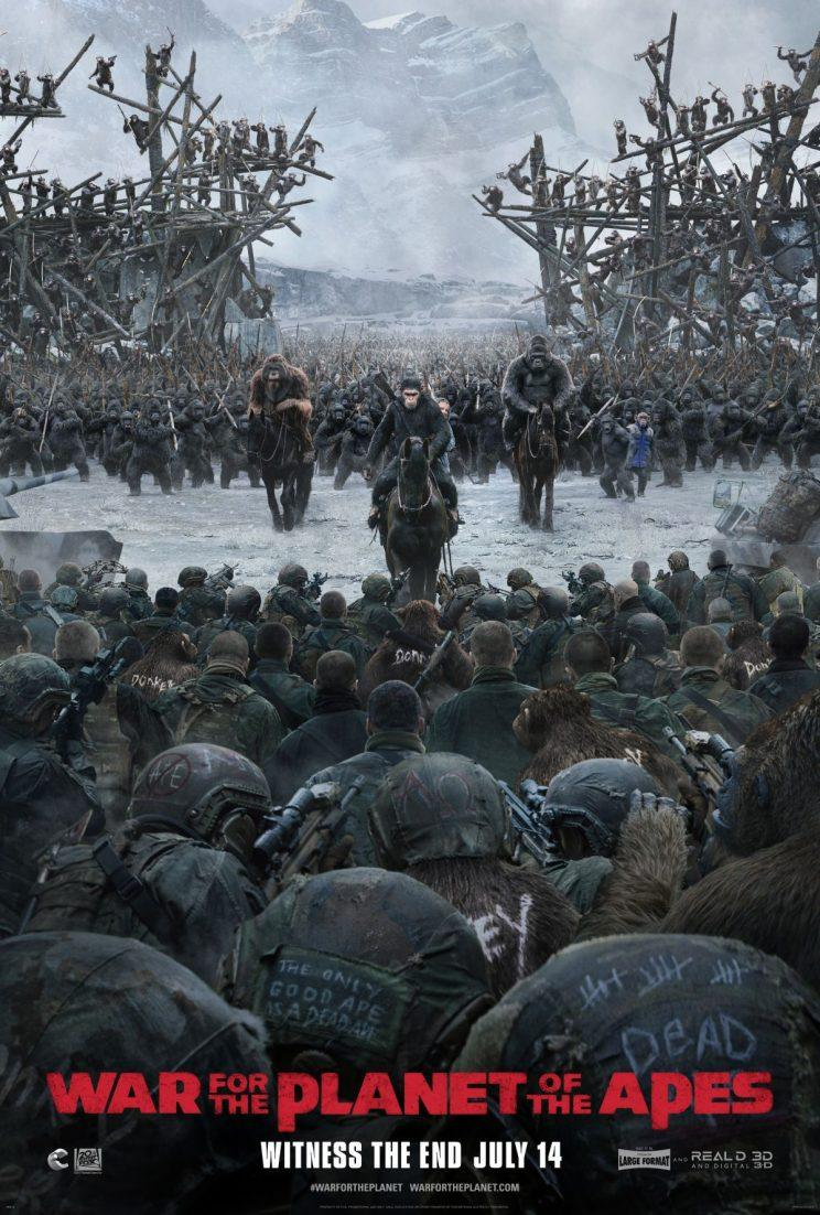 Caesar brings the fight to the humans in War for the Planet of the Apes - Credit: 20th Century Fox