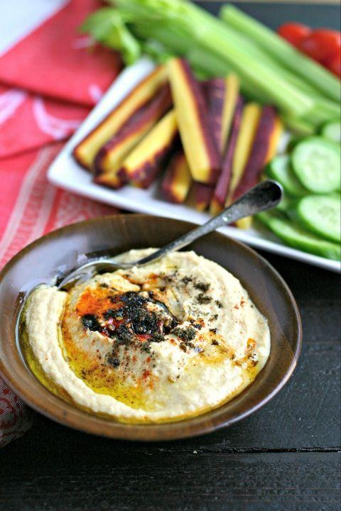 "<p>Even the biggest hummus snob in the world won't be able to deny this light, creamy, airy version.</p><p>Get the recipe from <a href=""https://www.everydaymaven.com/instant-pot-hummus/"" rel=""nofollow noopener"" target=""_blank"" data-ylk=""slk:Everyday Maven"" class=""link rapid-noclick-resp"">Everyday Maven</a>. </p>"