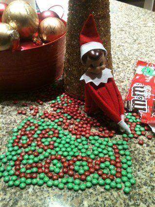 "<p>When your elf returns for another December of fun, have him arrive with a sweet message.</p> <p>Source: <a href=""http://40.media.tumblr.com/tumblr_lwgkgvt6BC1r755nso1_1280.jpg"" target=""_blank"">Tumblr</a></p>"