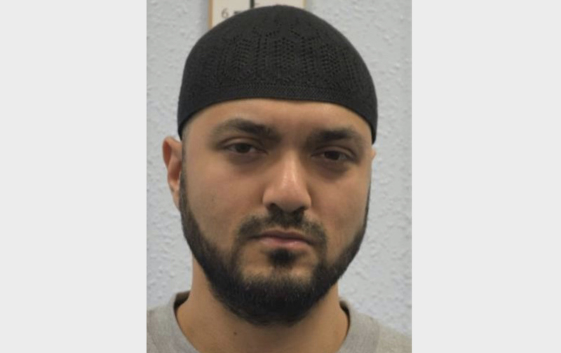 Chowdhury was sentenced to life with a minimum of 25 years. (PA Images/Met Police)