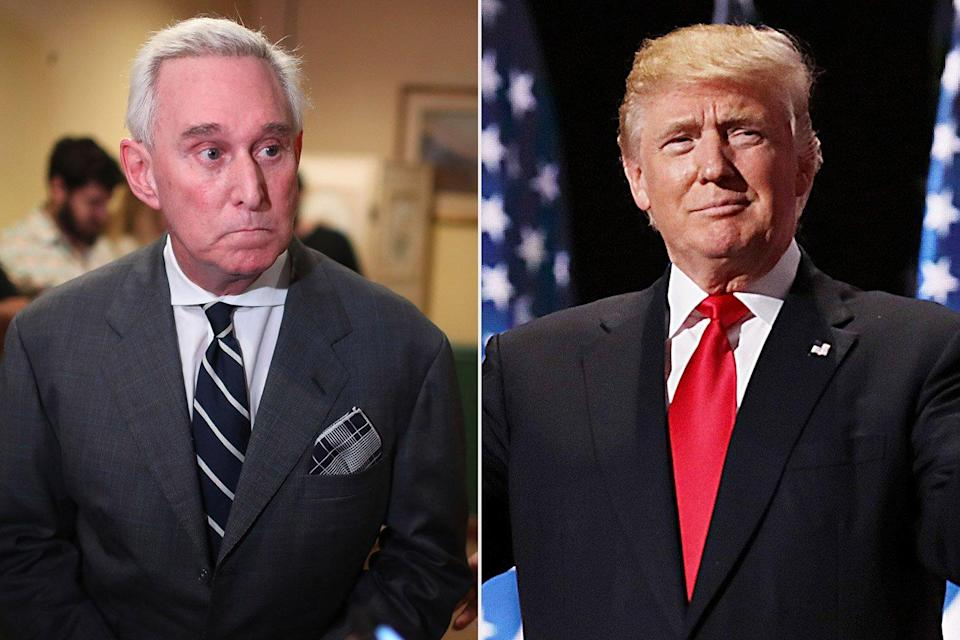 Donald Trump and Roger Stone