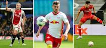 (From left) Donny van de Beek, Timo Werner and Kai Havertz were three of the big-money signings as Premier League clubs spent £1.2 billion during the transfer window