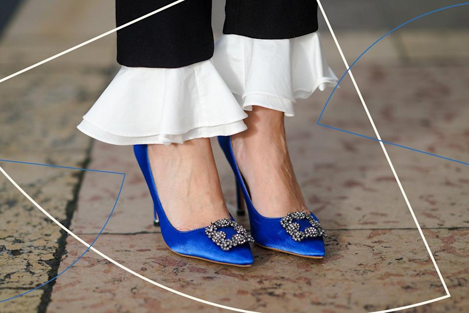 I'm a Shopping Editor Who Never Splurges, But I NEED These $995 Carrie Bradshaw Shoes for My Fall Wedding