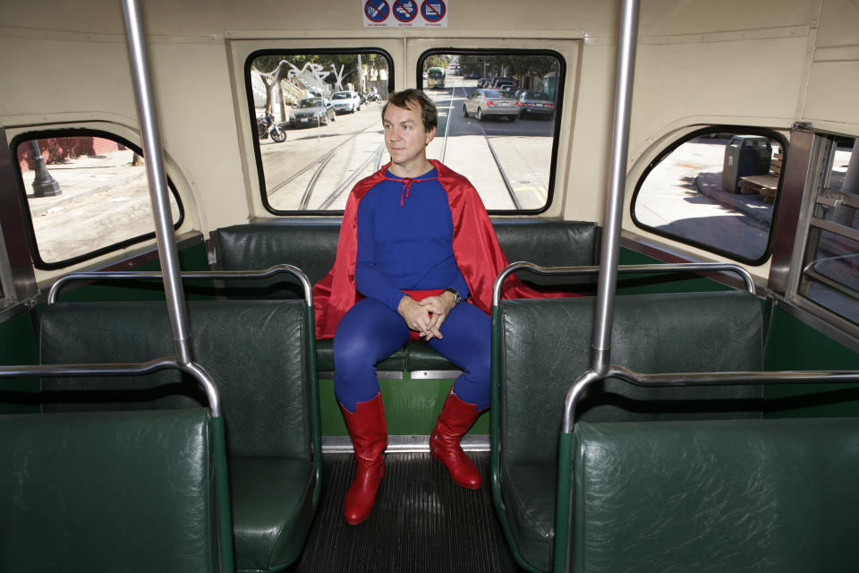 You can be a superhero too. Image: Getty