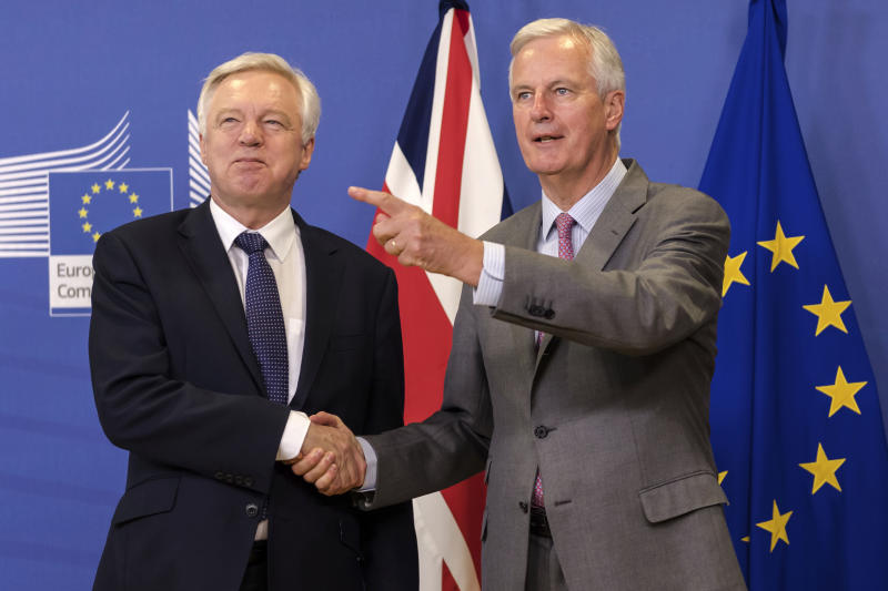 Brexit talks begin in earnest with citizens' rights in focus