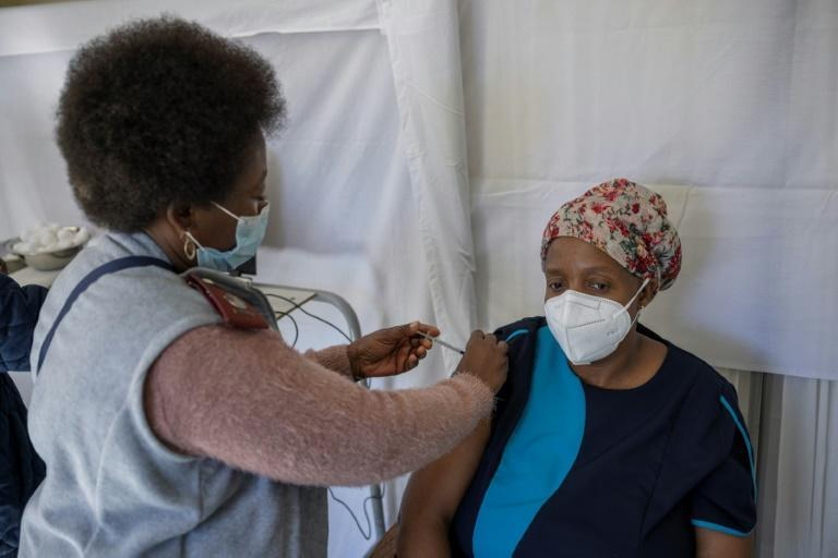South Africa has set the goal of immunising 70 percent of its adult population by year's end -- so far only 11 percent have been double-jabbed