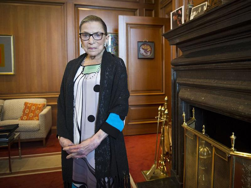 Supreme Court Justice Ruth Bader Ginsburg was an ardent supporter of women's rights