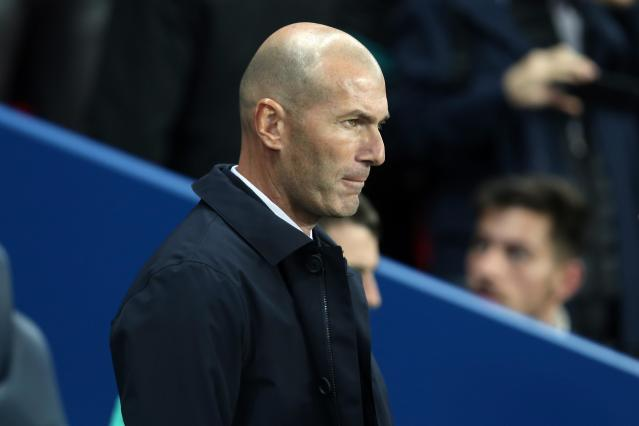 Zinedine Zidane has some issues to address within his Real Madrid side. (Getty)