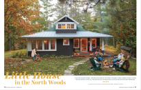 <p>Classically country and incredibly inviting, the issue features incredibly cozy country homes.</p>