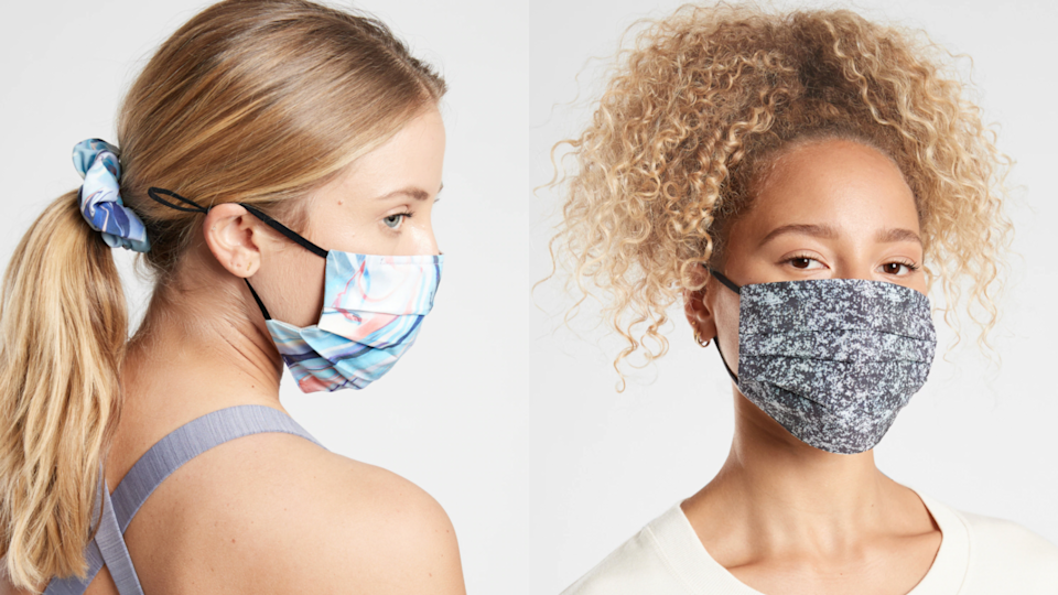 Choose a mask that you're comfortable wearing for hours.