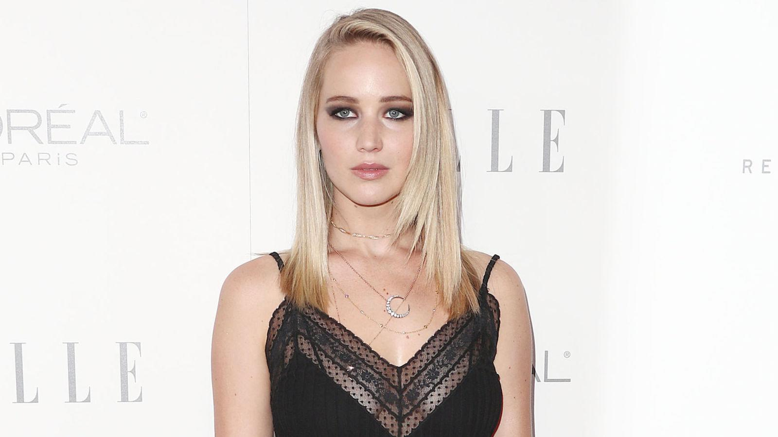 Jennifer Lawrence spoke about her experiences at the Elle: Women in Hollywood awards
