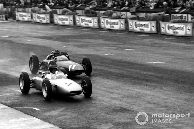"""1962: 9 gare - campione: Graham Hill<span class=""""copyright"""">Sutton Motorsport Images</span>"""