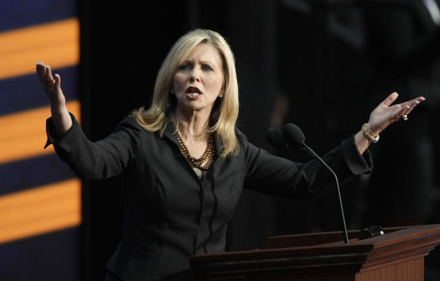 Blackburn speaks at the Republican National Convention in 2008. (Photo: Paul Sancya/AP)