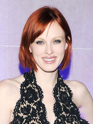 "<div class=""caption-credit""> Photo by: Billy Farrell/BFAnyc.com</div><div class=""caption-title"">Karen Elson's Angled Crop</div>Take a cue from the fiery redhead's newly debuted bob, which is short in the back and slightly longer in the front to convey just enough edge. <br> <br> <p>  <b>Read more:</b> </p> <p>  <b><a rel=""nofollow"" href=""http://www.harpersbazaar.com/beauty/makeup-articles/best-waterproof-mascaras%20?link=rel&dom=yah_life&src=syn&con=blog_blog_hbz&mag=harhttp://www.harpersbazaar.com/beauty/makeup-articles/best-waterproof-mascaras?link=rel&dom=yah_life&src=syn&con=blog_blog_hbz&mag=har"" target="""">Waterproof Mascaras That Never Smudge</a></b> </p> <p>  <b><a rel=""nofollow"" href=""http://www.harpersbazaar.com/beauty/hair-articles/celebrity-haircuts-every-age-0610?link=rel&dom=yah_life&src=syn&con=blog_blog_hbz&mag=har"" target="""">The Best Haircuts for Every Age</a></b> </p> <br>"