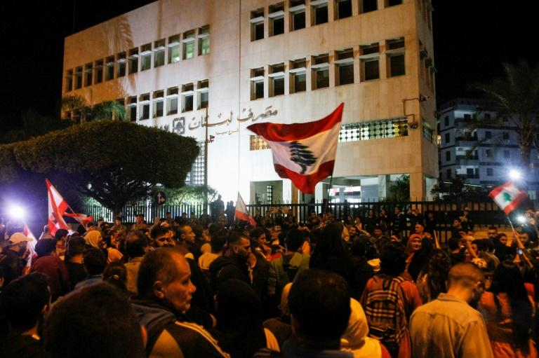 As Lebanon's protest movement enters its third month, demonstrators are increasingly targeting banks for trapping their savings