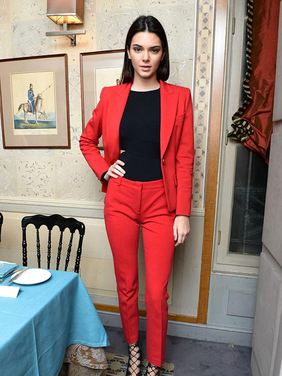 <p>At the Tabitha Simmons Collection launch in Paris, September 2014.</p>