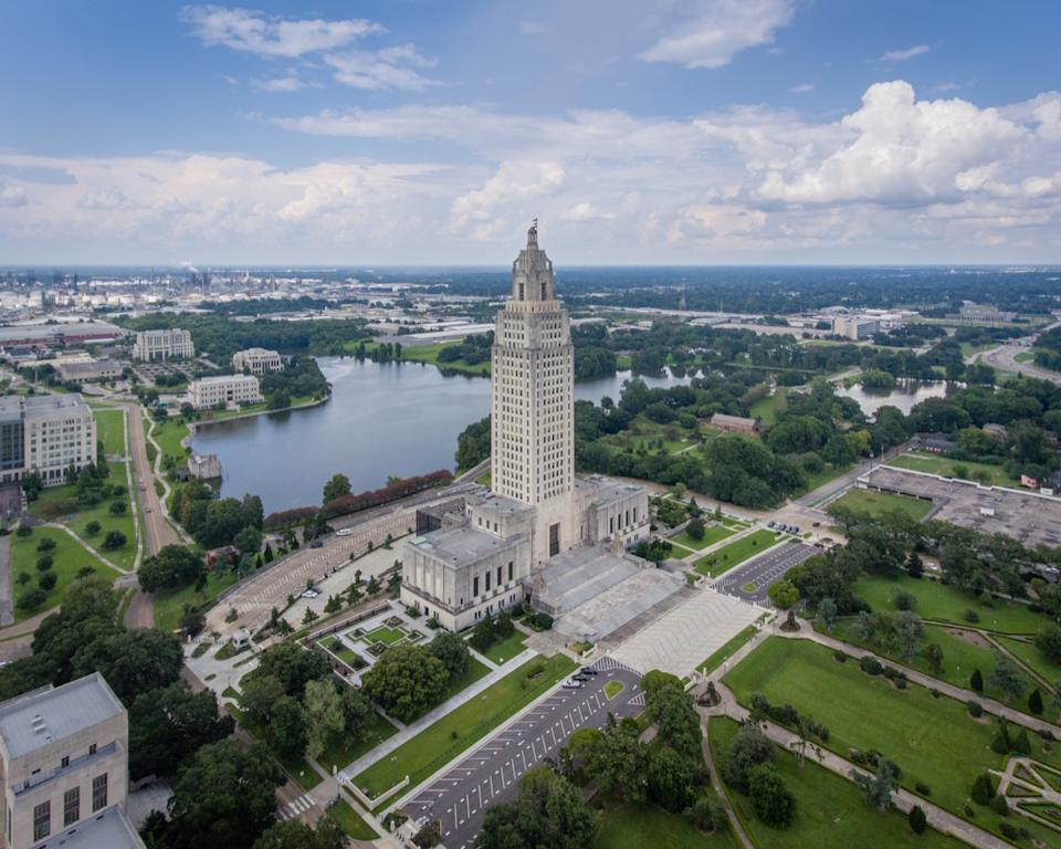 baton rouge louisiana state capitol buildings