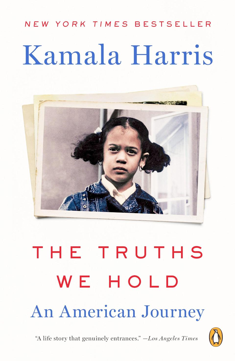 <p>The daughter of Indian and Jamaican immigrants and raised in Oakland, CA, get to know the life and journey of Vice President Kalama Harris in <span><strong>The Truths We Hold: An American Journey</strong></span> ($9).</p>