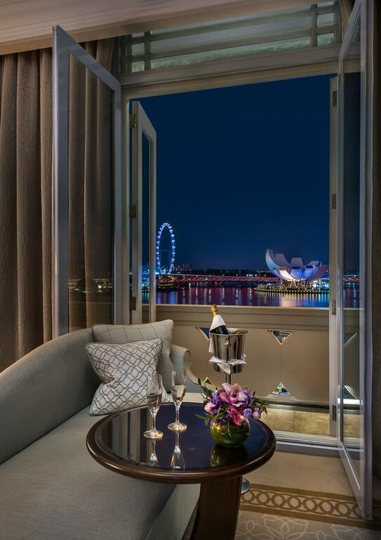 The Fullerton Hotel Suite View