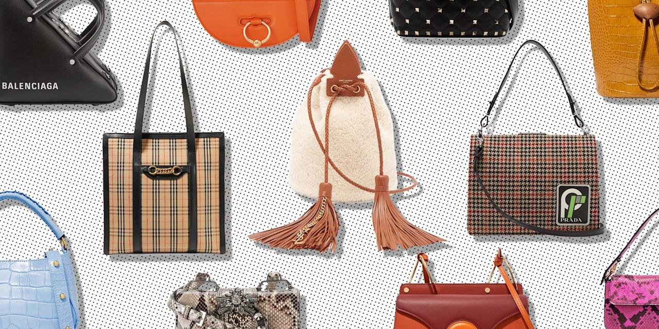"<p>It's our favourite time of year again: the summer sales. Those precious few weeks when luxury e-tailers like <a href=""https://www.elle.com/uk/fashion/what-to-wear/g21282910/net-a-porter-sale-best-buys/"" target=""_blank"">Net-A-Porter</a>, Matches Fashion, Browns and Selfridges slash their prices and we all get to pretend we've got more money than we actually do. Seriously though, the sales are the perfect time to purchase investment pieces you'll wear forever – like good-quality coats, <a href=""https://www.elle.com/uk/fashion/what-to-wear/g22798902/animal-print-shoes/"" target=""_blank"">statement shoes</a> or a designer handbag. </p><p>A shiny new bag can update and upgrade even the most low-key looks, so we feel like every woman needs one in her life. And you really don't have to pay over the odds for something special; we've scoured the designer bag sales and found cult pieces from Saint Laurent, Balenciaga, Miu Miu, JW Anderson and Prada discounted by 50 per cent.</p><p>Can't afford the designer price tag? When it comes to accessories, new-gen, mid-tier brands such as Staud, Cult Gaia, Wandler, Danse Lente and Loeffler Randall have got your back – and bank balance – with items starting from less than £100. If you don't believe us, check out our edit of the 25 best designer bags that are half price in the summer sales.</p><p><em>We earn a commission for products purchased through some of the links in this article</em></p>"