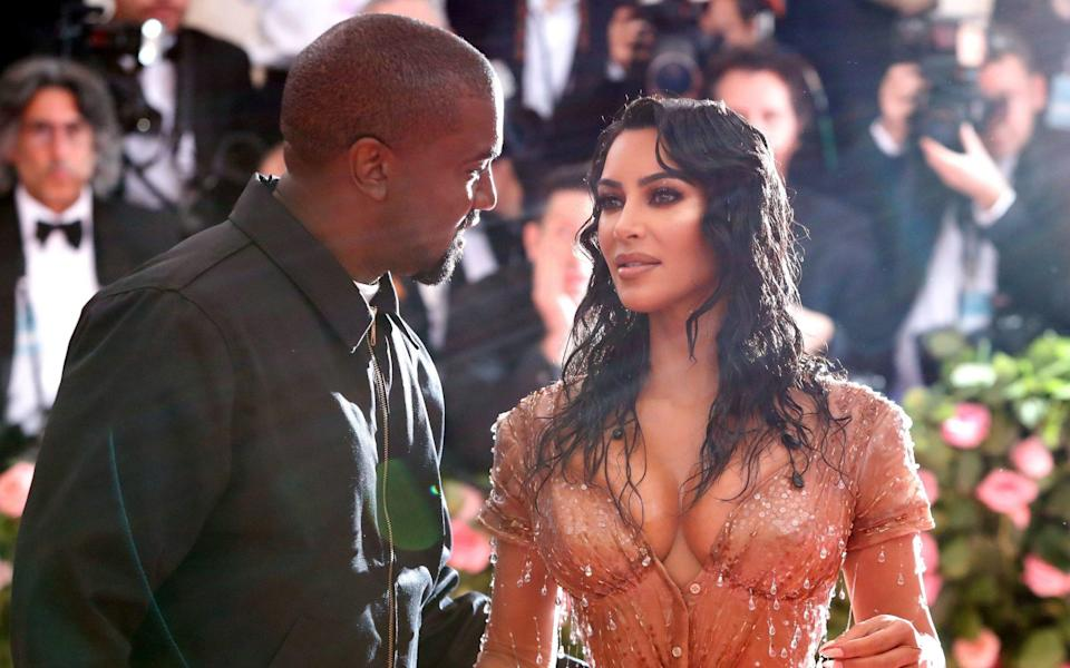 Kim Kardashian and Kanye West at the 2019 Met Gala - ANDREW KELLY /REUTERS