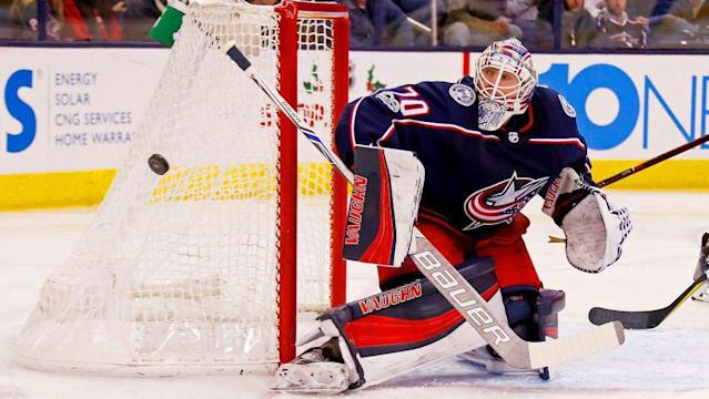 The Blue Jackets need to right the ship soon, but injuries and an ineffective power play is making their prognosis grim. (AP)
