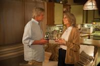 """<p>Realtor Oren Little (Michael Douglas) is one sale away from retiring, but things hit the fan when his granddaughter - whom he's never heard of, BTW - shows up at his doorstep unannounced. The only way he can think of to deal with this is by handing her off to Leah (<a class=""""link rapid-noclick-resp"""" href=""""https://www.popsugar.co.uk/Diane-Keaton"""" rel=""""nofollow noopener"""" target=""""_blank"""" data-ylk=""""slk:Diane Keaton"""">Diane Keaton</a>), a next-door neighbor.</p> <p><a href=""""http://www.amazon.com/So-Goes-Diane-Keaton/dp/B08ZXXMT9S/1"""" class=""""link rapid-noclick-resp"""" rel=""""nofollow noopener"""" target=""""_blank"""" data-ylk=""""slk:Watch And So It Goes on Amazon Prime."""">Watch <strong>And So It Goes</strong> on Amazon Prime.</a></p>"""
